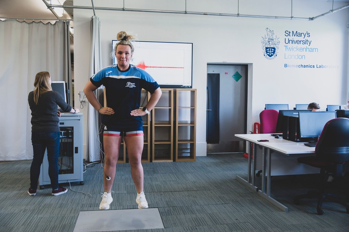 If you want to find out more about MSc Applied Sport and Exercise Biomechanics at @YourStMarys join us on Wednesday 27th May for our online information session! Book through the link below 👇 ow.ly/ejm550zF2bP