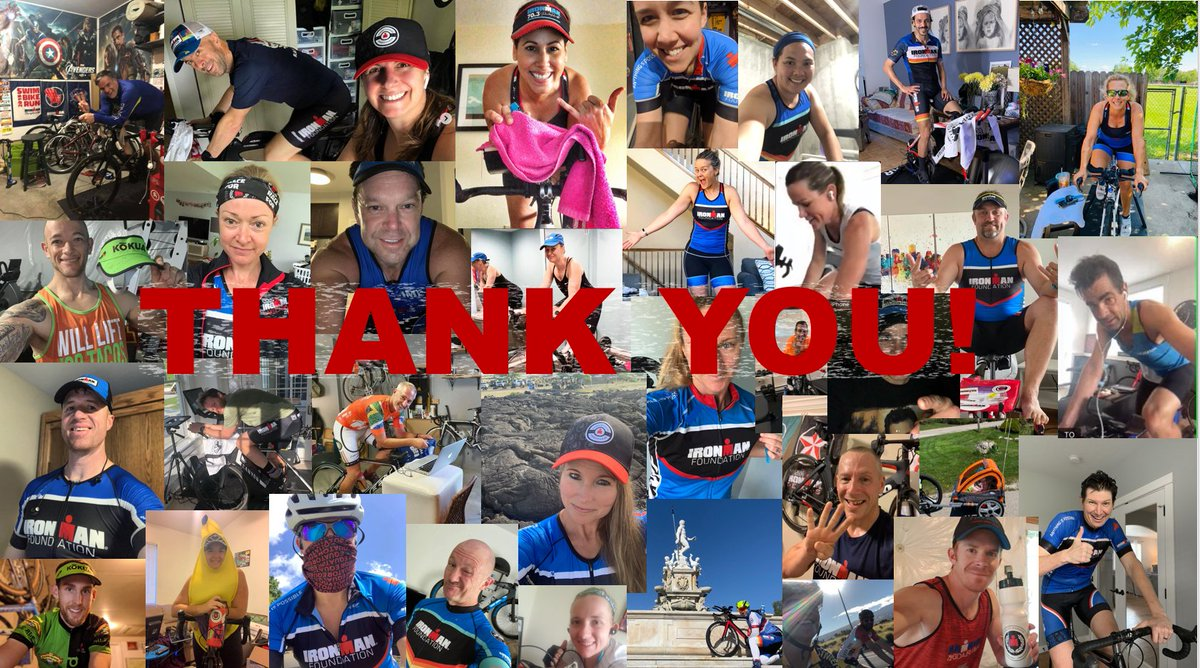 THANK YOU to everyone who participated in the 24/7 Ride For Relief! 242 athletes from 40 states and 21 countries made the decision to #RaceForMore.