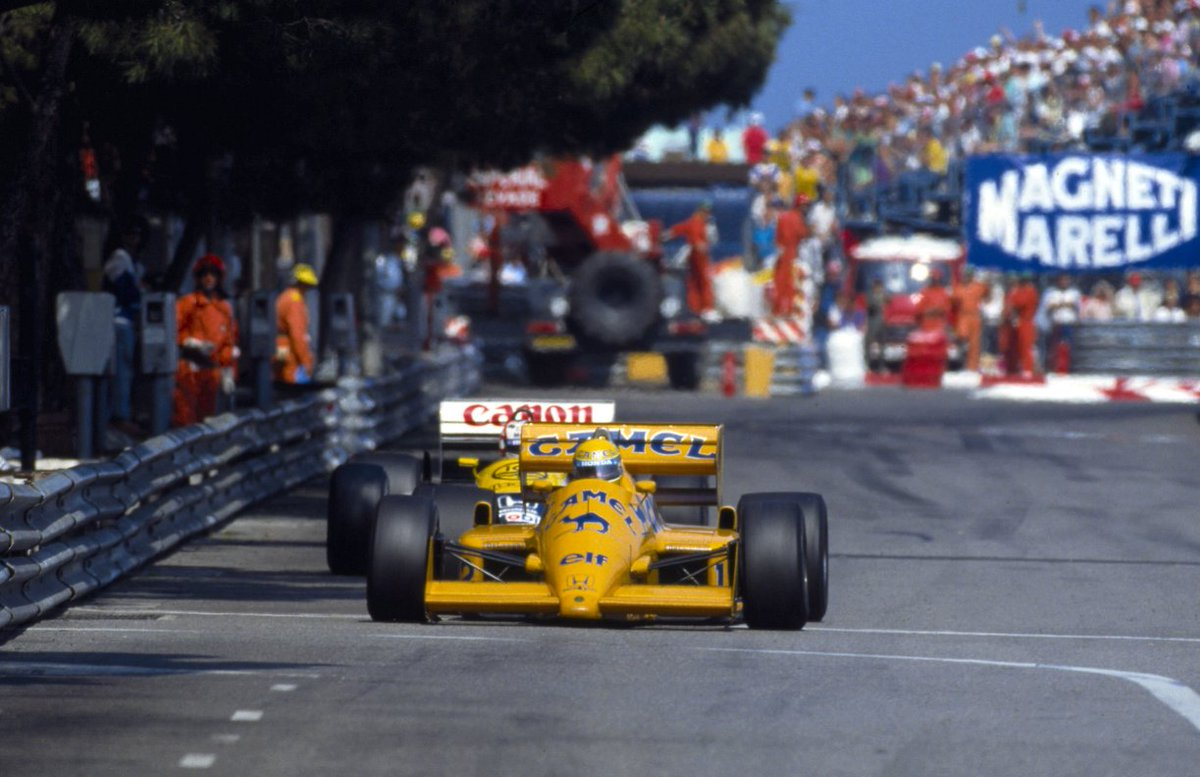 #F1 - Ranking Formula 1's Top 3 Drivers in Monaco – Ayrton Senna: 6🏆- Ayrton Senna stands alone on six #MonacoGP 🇲🇨 wins-He won for the 1st time in 1987. Five victories in a row from 1989 to 1993 made the Brazilian the most successful Monaco driver in the history of F1 #F1Rewind https://t.co/cJMv99wkKC
