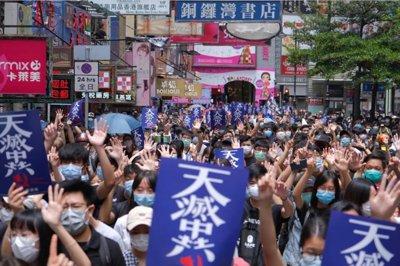 God be with HongKong #GloryToHongKong pic.twitter.com/nh7dziicFW