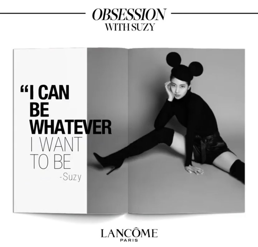 Suzy said I can be whatever I want to be and I think all of us should listen to the queen <br>http://pic.twitter.com/63JnJLLojJ