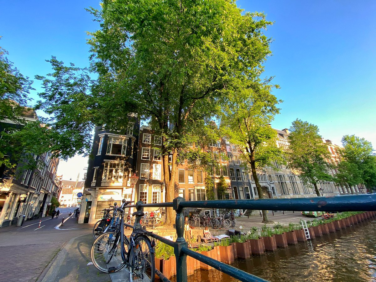 Amsterdam is looking and feeling lovely. What is your first place to visit?   #Amsterdam #May2020pic.twitter.com/hPFi8PkNyu
