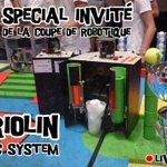 Image for the Tweet beginning: Go pour le #live #robotique