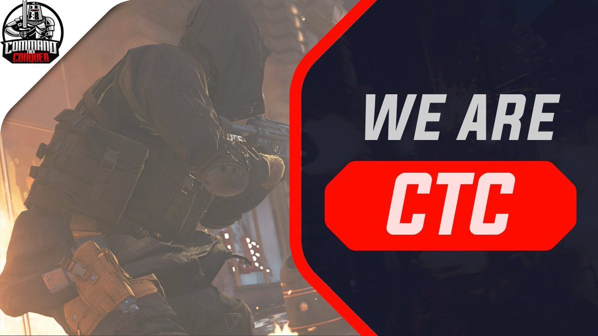 Does any EU CoD teams like to scrim against @cTc_ORG at 18:00 PM GMT?  Especially teams in the @EEGOnline  if you're interested send us a DM or @GoodThumbss   #LetsConquer <br>http://pic.twitter.com/THRlnhuT5E