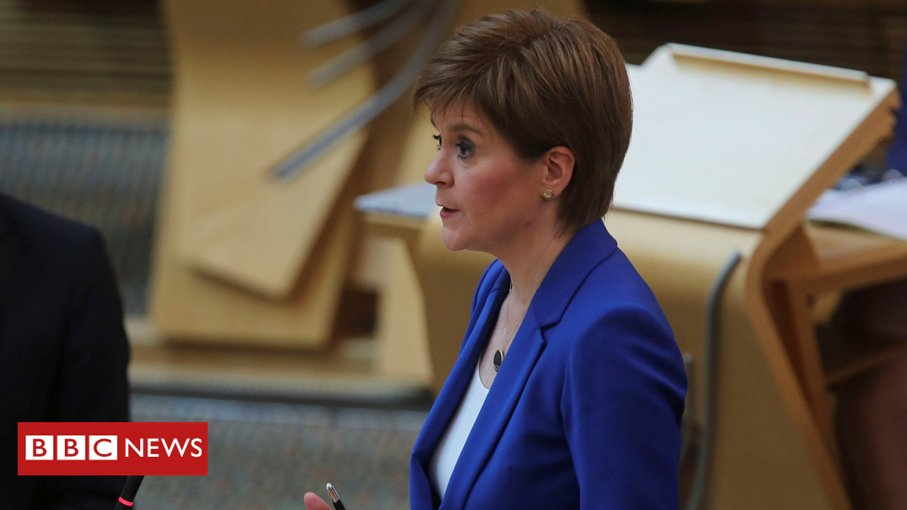 """""""It is tough to lose a trusted adviser at the height of crisis, but when it's a choice of that or integrity of vital public health advice, the latter must come first""""  Scottish First Minister Nicola Sturgeon joins calls for Dominic Cummings' resignation  https://bbc.in/3efz6i9pic.twitter.com/rerJNLs2U1"""