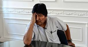 What does the bastard Evo Morales think? The wanderer always scheming to harm his brothers. The desire to destroy your country because it is evil full time.... <br>http://pic.twitter.com/q01dFEmuJ2