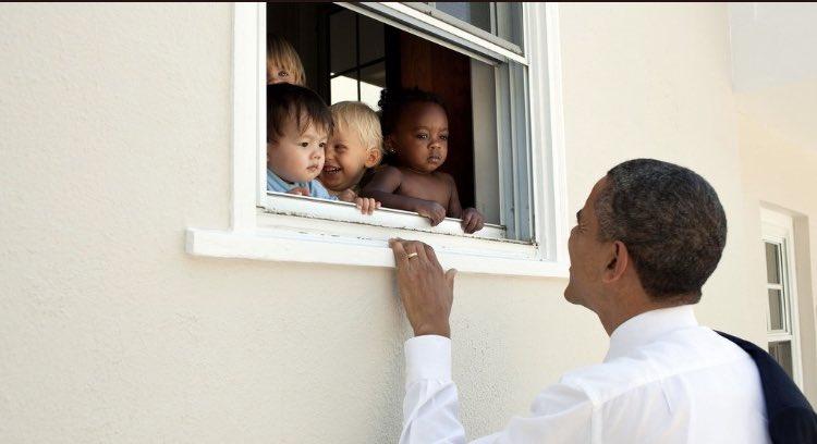 @realDonaldTrump #PresidentBarackObama