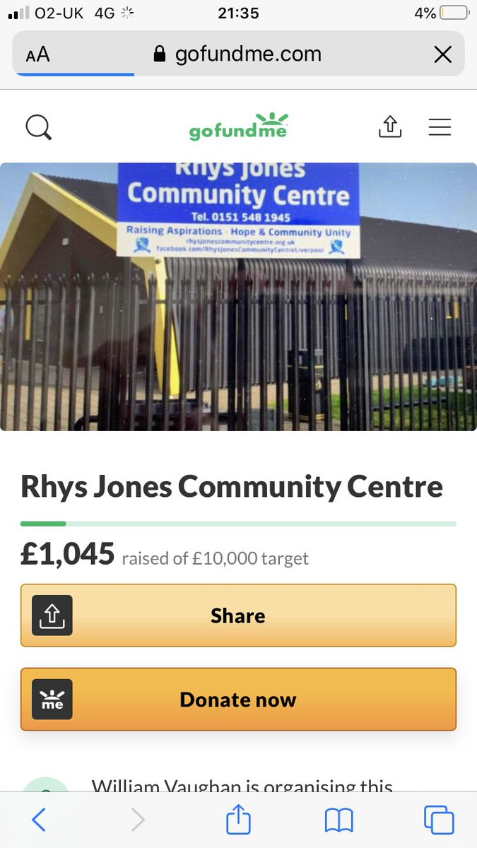 @StephenGraham73 Any chance of a RT to help the rhys jones centre out. The centre was built for little rhys and is struggling 💙