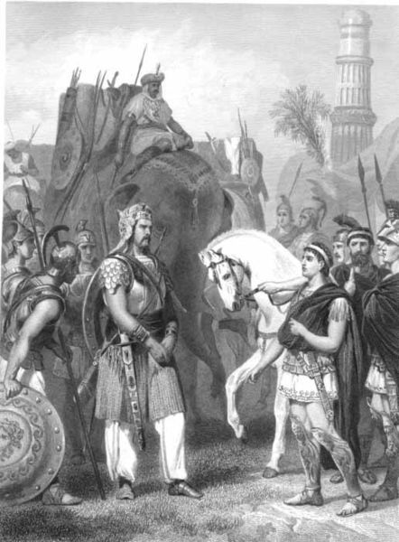326 B.C :: King Porus Defeated by Alexander The Great In Battle of Hydaspes (Now Jhelum)  River <br>http://pic.twitter.com/kRVvcGtv6s