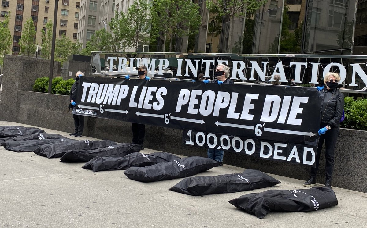 Theres Another Kind Of #MemorialDay Observance Going On In NYC This Weekend, Donald. It Does NOT Involve Golf. @zimney_leanna @AuroraBlogspot @raynadragon @rickclem @AgentHillResist @nomorefreebeer @Kelly4Hillary @AnthropoceNuke0 @philoanth @Tony323g @aayers324 @PlaceboDingo