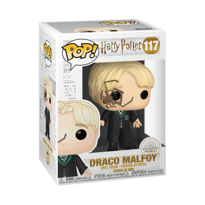 RT & follow @OriginalFunko for the chance to win a Draco Malfoy Pop! bit.ly/3c1oyl6