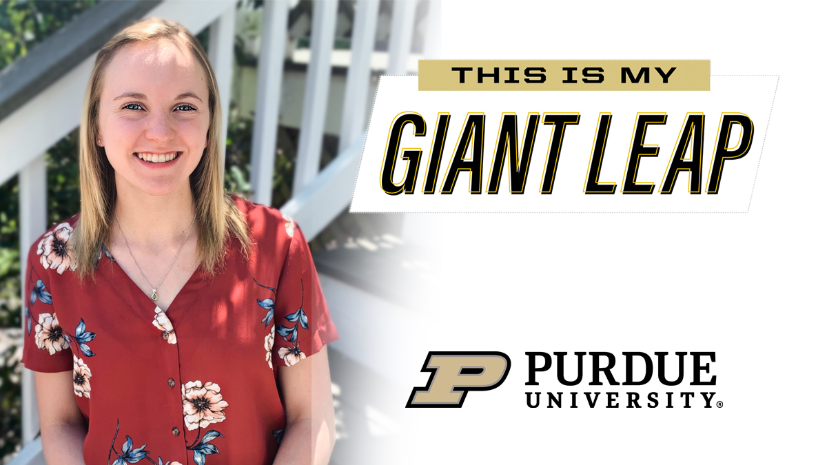 #TheNextGiantLeap for 2020 senior Berkley Ripper is Doctor of Veterinary Medicine @pucvm. Congrats! #PurdueWeDidIt #LifeatPurdue #PurdueUniversity