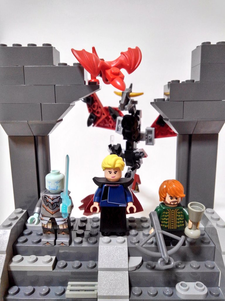#レゴ で #ゲームオブスローンズ を再現しました🐲⚔️  世界観もキャラクターも魅力が溢れていて好きなドラマの一つです!  #デナーリス #ナイトキング #ティリオンラニスター #ドラゴン #LEGO #gameofthrones #daenerys #nightking #tyrionlannister #dragon #hbo https://t.co/zeZ76hRUZ8