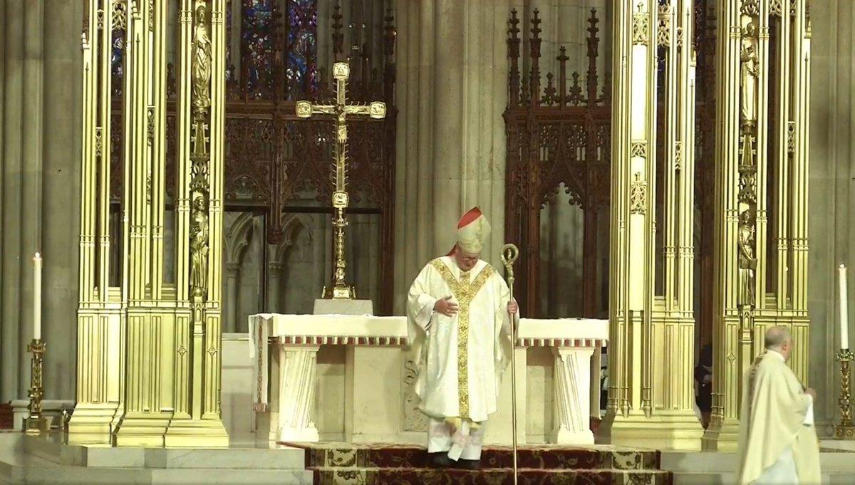 Thank you @CardinalDolan for a beautiful homily  #AmericaTheBeautiful #StPatricks https://t.co/E5XJm9Jo2B