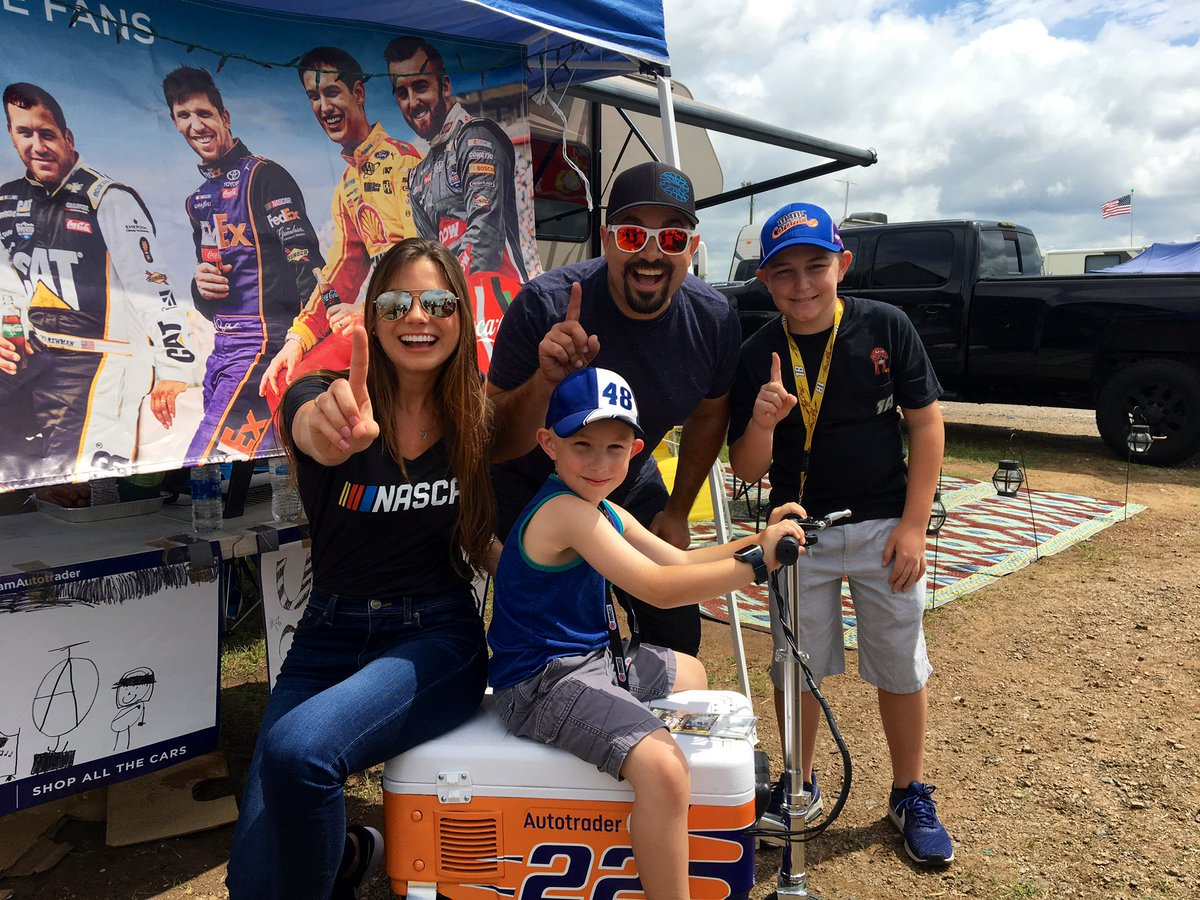 We miss you all! But we are thankful for Memorial Day, family & racing! #NASCARIsBack How about some  giveaways?!  Reply w your fav #NASCARTrackside or #CocaCola600  moment & we will select 3 prize pack winners! @CLTMotorSpdwy<br>http://pic.twitter.com/rPe1o9giaJ