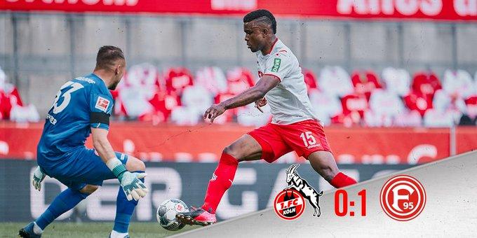 Colonia-Dusseldorf 0-1 e ospiti a sorpresa avanti!