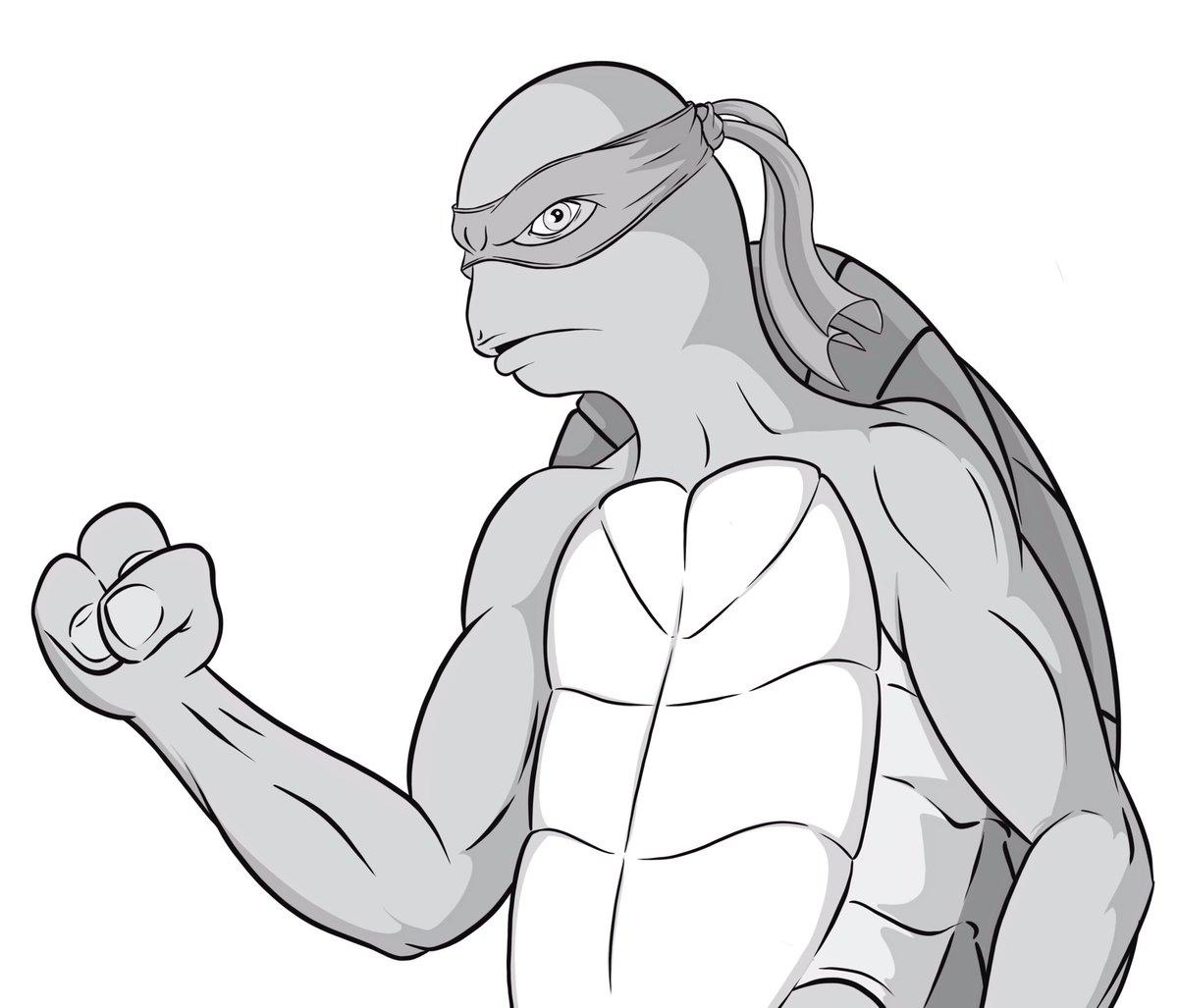 My take on Donatello. @TMNT #fanart<br>http://pic.twitter.com/NUAgDKeU0w