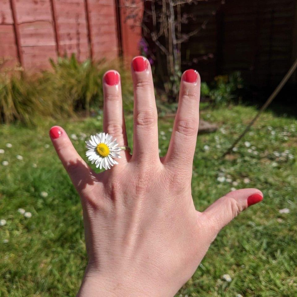 test Twitter Media - A dear dear friend just got engaged during lockdown with a daisy! Which just goes to show you don't need to wait for a ring to pop the question! 🌼 We couldn't be happier for the marvellous couple!!! https://t.co/9P7OPjPKaq