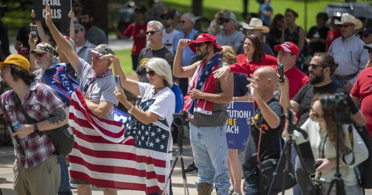 Protesters rally for lifting all COVID restrictions on Texas buff.ly/36yGNNW
