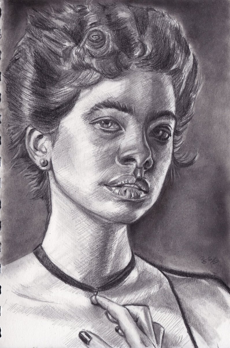 #graphite  #pencil #portrait on #sketchbook  photo ref by JJ Jordan on @unsplash  #art #handdrawn #handdrawnart #teamdli  #pencildrawing #graphitedrawing #artist #iloveart #drawsomethingshowcase #united_artists_art_pic.twitter.com/PySkwTXF0e