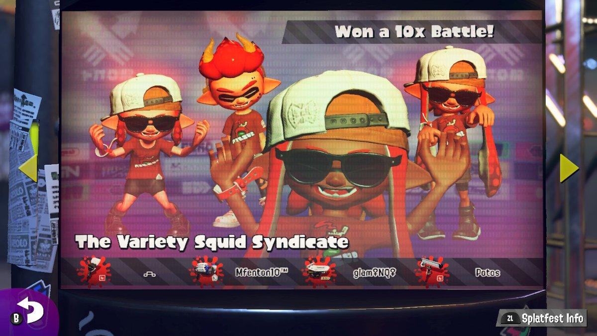 Finnnaaally #Splatoon2 #NintendoSwitch