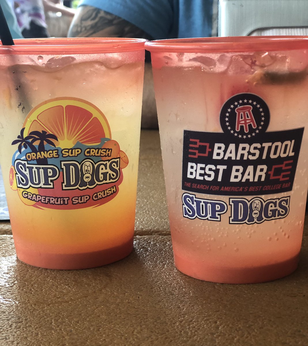 Words can not describe my excitement, Happiness, and yes I ordered two at one time @SupDogsECU My #1 on list since shutdown has been completed, and is better than I ever imagined #BarstoolBestBar #SupCrushin #SundayFunday #LivingMyBestLife https://t.co/wWCSqU3lop