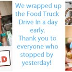Image for the Tweet beginning: The Food Truck Drive In