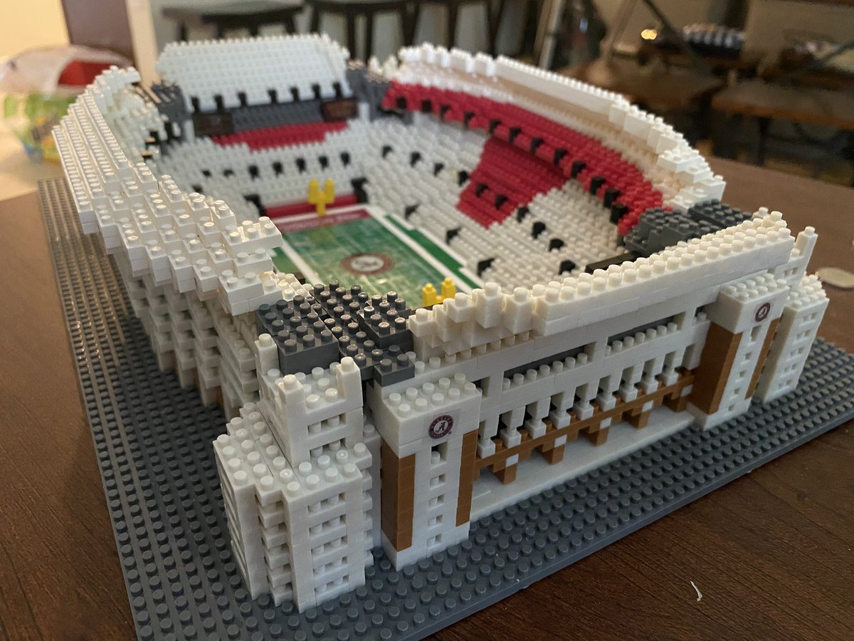 Just gotta add tiny little LEDs to the rooftop and I'm READY for @AlabamaFB season! #RollTide @FOCOusa #FOCO pic.twitter.com/SuG7jqPs3p