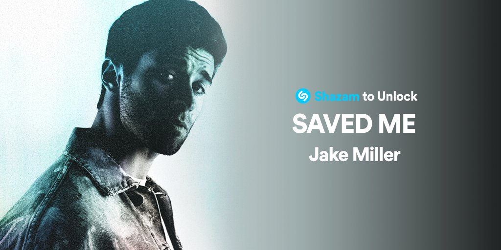 Shazam #SAVEDME by @jakemiller to unlock an exclusive video 😎
