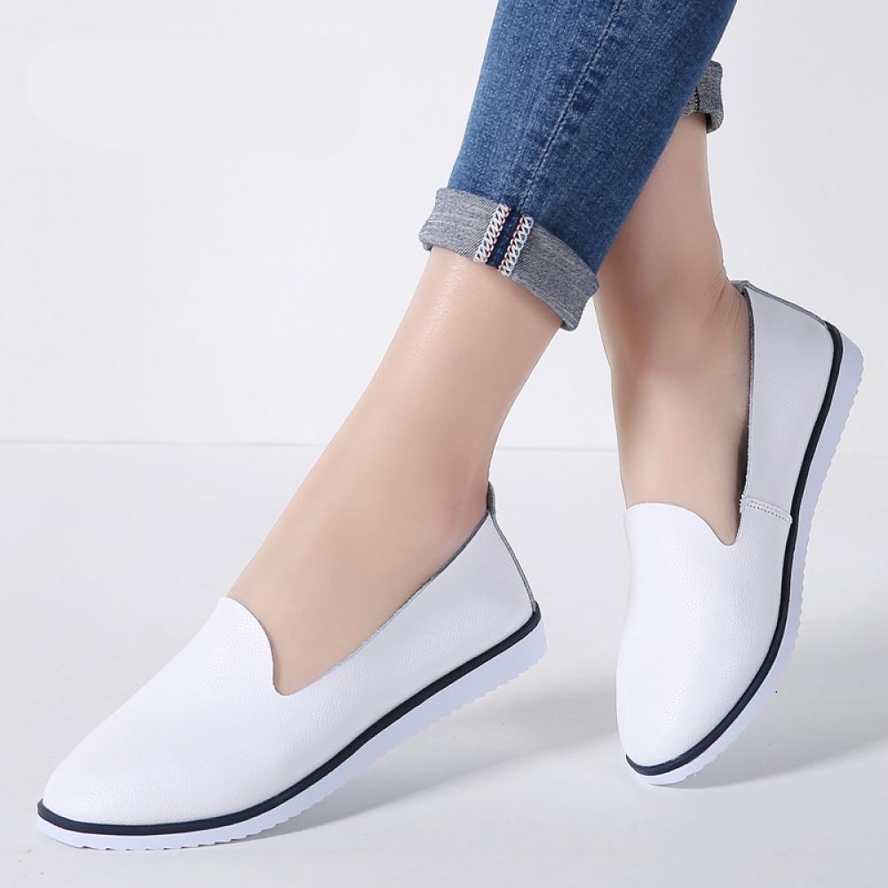 #shopaholic #clothes Women's Ballet Genuine Leather Flats Shoes pic.twitter.com/jVkHDgoyUK