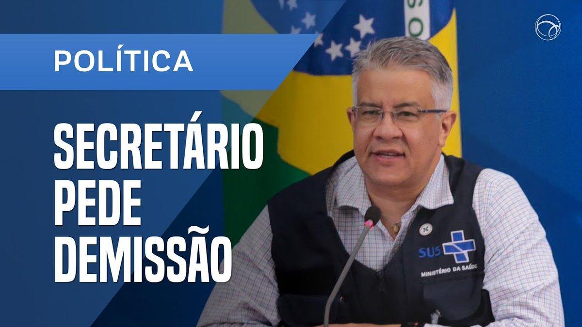SECRETÁRIO DE VIGILÂNCIA DO MINISTÉRIO DA SAÚDE DEIXA O CARGO