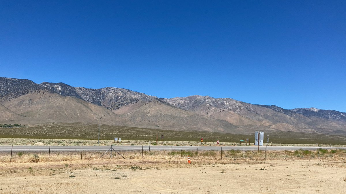 On the road again... the Eastern Sierra Nevada #travel pic.twitter.com/g9Ri9oDlR3 – at Coso Junction Rest Area