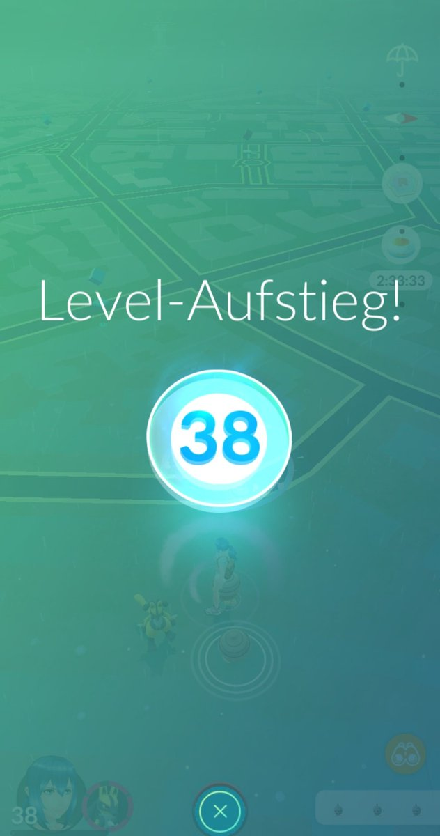 Level 38 and a decent IV Shiny which i traded... I didnt bloody know that you can max out Pokemon with Level 38, i Always thought the last two pushes are available wiht Level 40.  #PokemonGO pic.twitter.com/A7S5Ziil2m