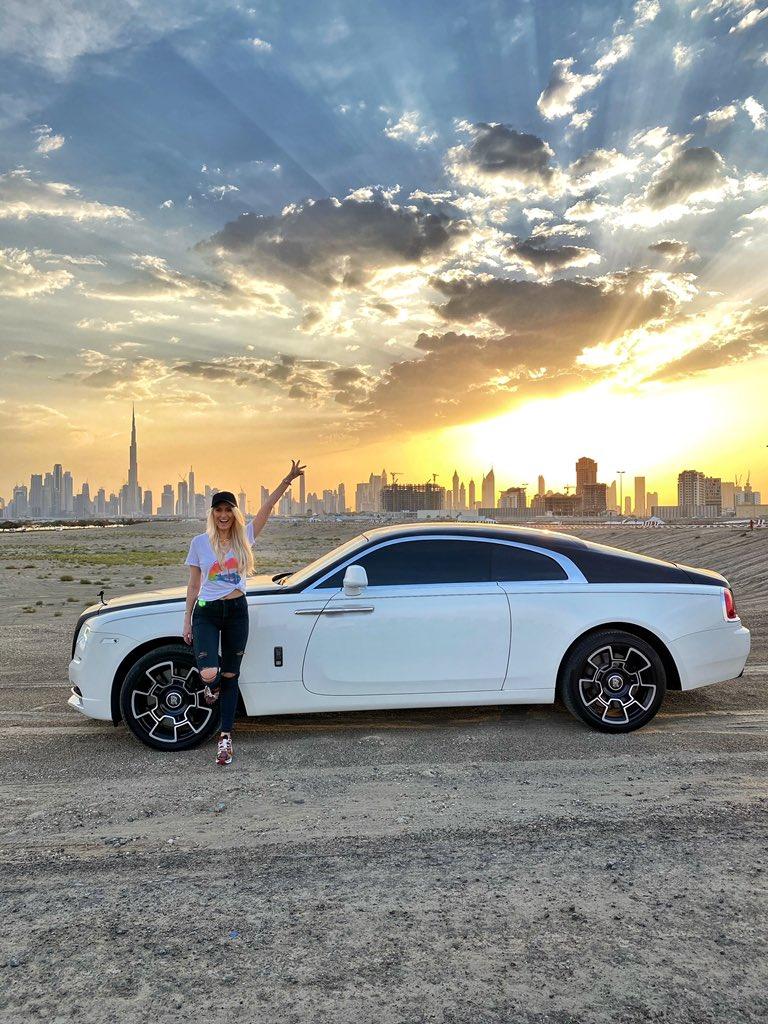 Supercar Blondie On Twitter Eid Mubarak Guys Much Love Rollsroyce Wraith Supercarblondie Eidmubarak Dubai