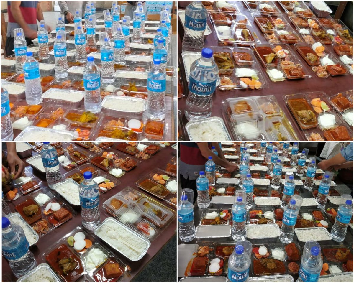 Today in view of Eid festival special arrangements of lunch made for inmates at quarantine centres of Ganderbal.Nothing can replace home. We tried our best to make them feel at #home. pic.twitter.com/swLnX0AvMe