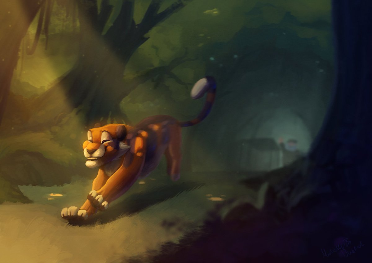 #painting for the animation I posted earlier pic.twitter.com/uhhj6G38e6