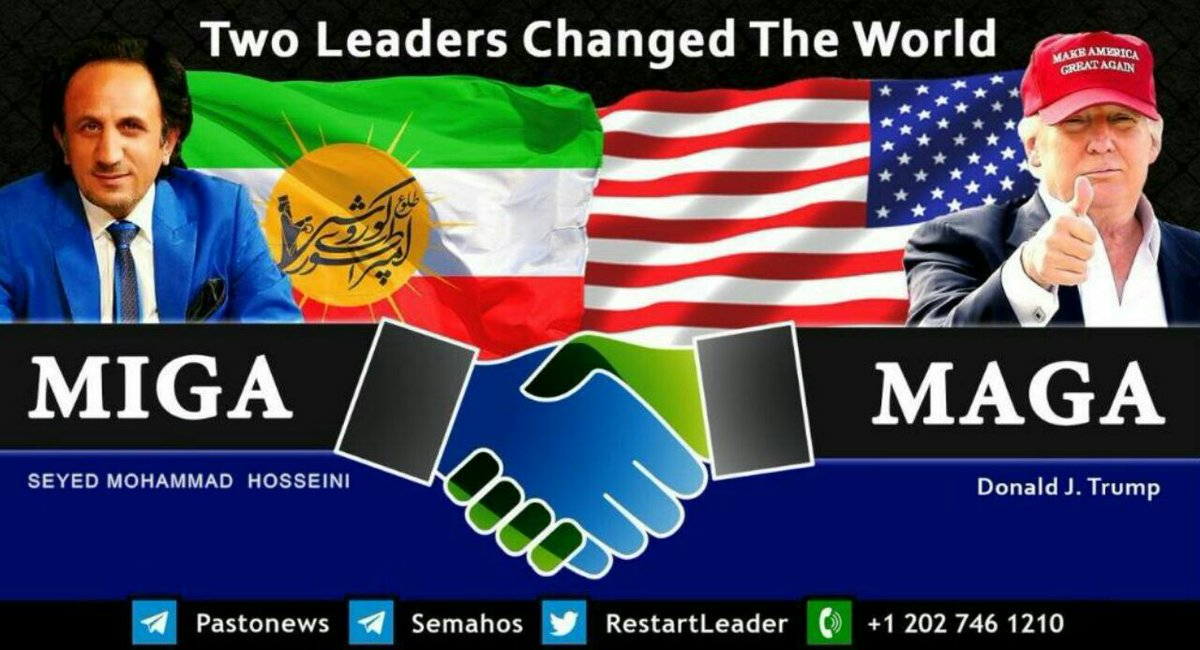 We all have one goal, and that is world peace. Maga and Miga are both love <br>http://pic.twitter.com/uKVyzdMYb6