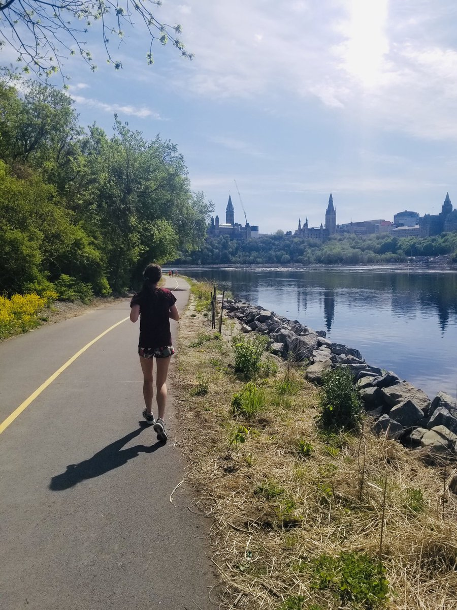 For the past 9 years I have ran either a full or half marathon in Ottawa Race Weekend. It was suppose to be today but it was cancelled this year, so I decided to run it anyways   #halfmarathon #ottawaraceweekend<br>http://pic.twitter.com/HdOH98NbKG