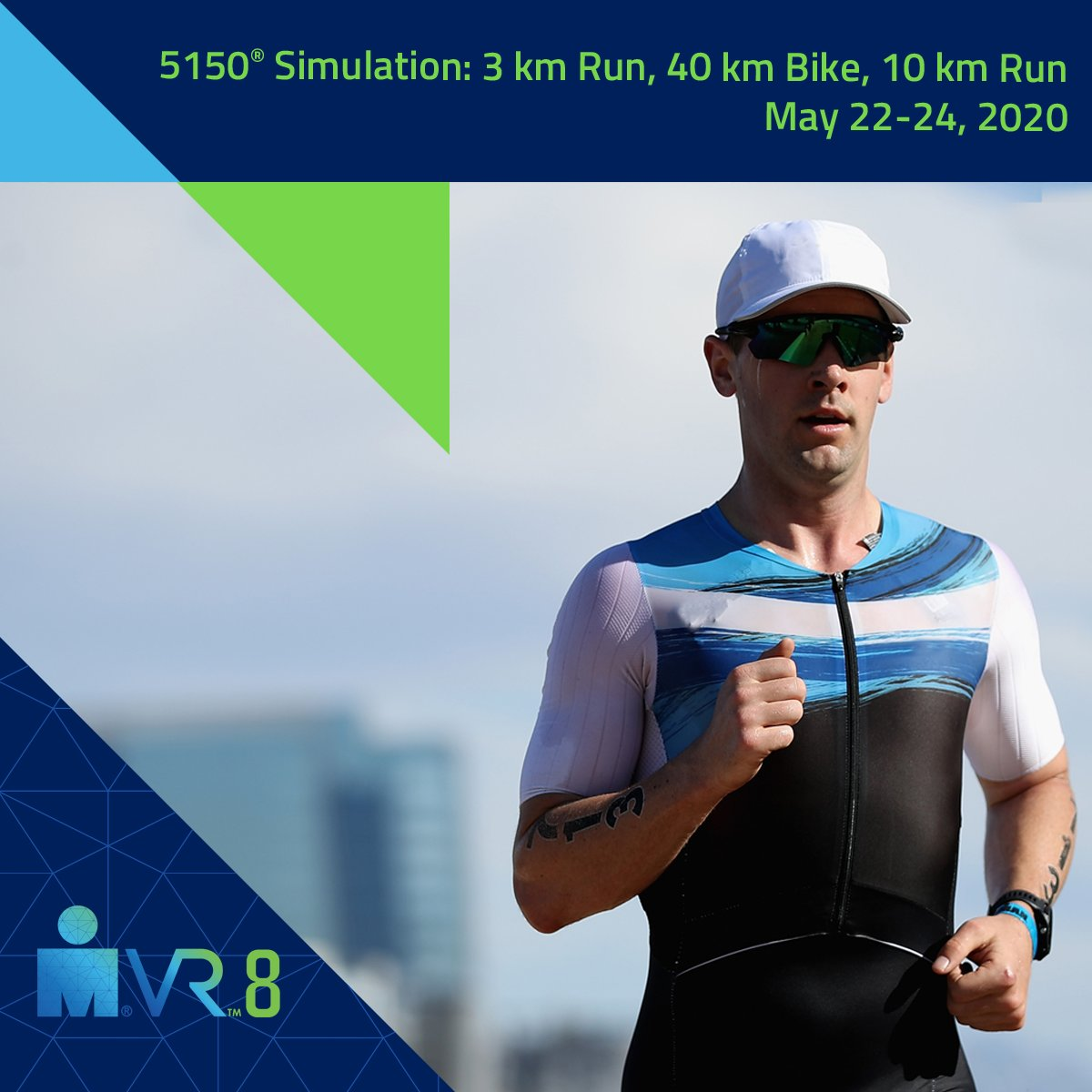 Theres STILL TIME to register for #IRONMANVR8 and complete the distances. With just over 5 hours left to race and an average finish time of 2.5 hours, youve got enough hours left in the day to lace up those shoes and hop on that bike to earn your badge. ironmanvirtualclub.com