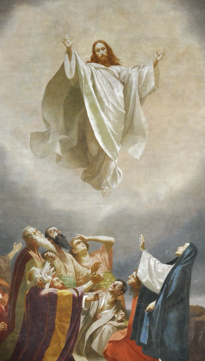 Today, Catholics observe the Solemnity of the Ascension of Jesus Christ, a Holy Day of Obligation (officially last Thursday), wherein Christ left his disciples to join God, His Father, in Heaven: http://www.catholic.org/lent/ascension.php …   #AscensionThursday #Jesus #HolyDaypic.twitter.com/03QLtEqraS