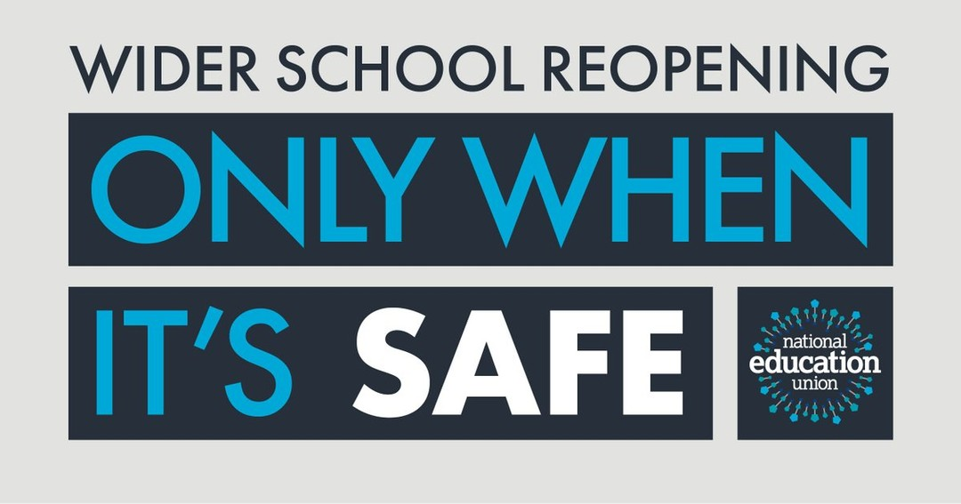 National Education Union On Twitter Neunion Not Convinced Safe To Open Schools More Widely On June 1st Govt Haven T Modelled This Proposal Contact Tracing Sage Require Is Not In Place Independent Sage