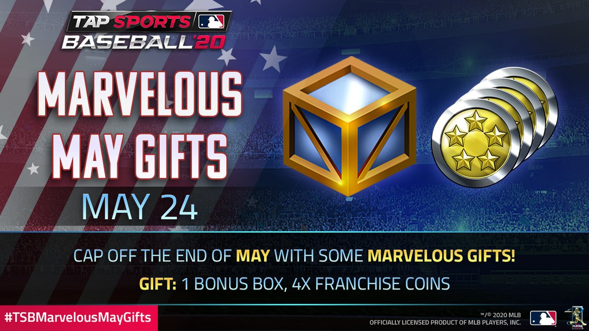 Hear that extra jingling in your pocket? Must be part of today's #TSBMarvelousMayGifts.