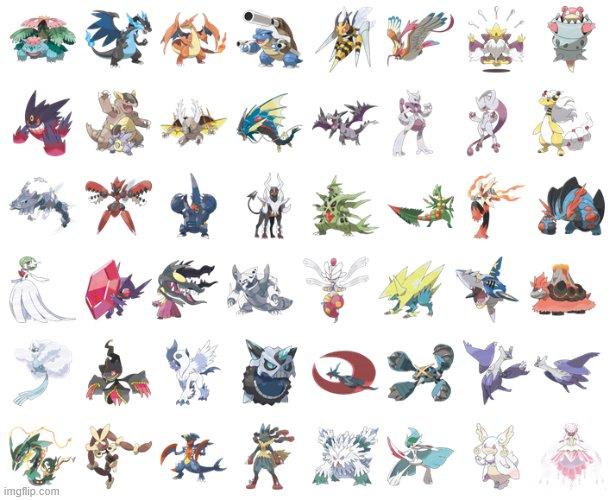 What's your favorite Mega Evolution Pokemon?  <br>http://pic.twitter.com/t1tfjm2oxn