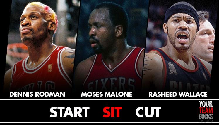 Start? Sit? Cut? . . . For official lines, https://bit.ly/2zVBXxR . . . . . . . . . #nba #nbaplayoffs #basketball #basketballhighlights #nbaplayers #nbachampions #nbalegens #nbamemes #chicagobulls #philadelphia76ers #portlandtrailblaizers #memes #sports #sportsbettingpic.twitter.com/iwpttafQR7