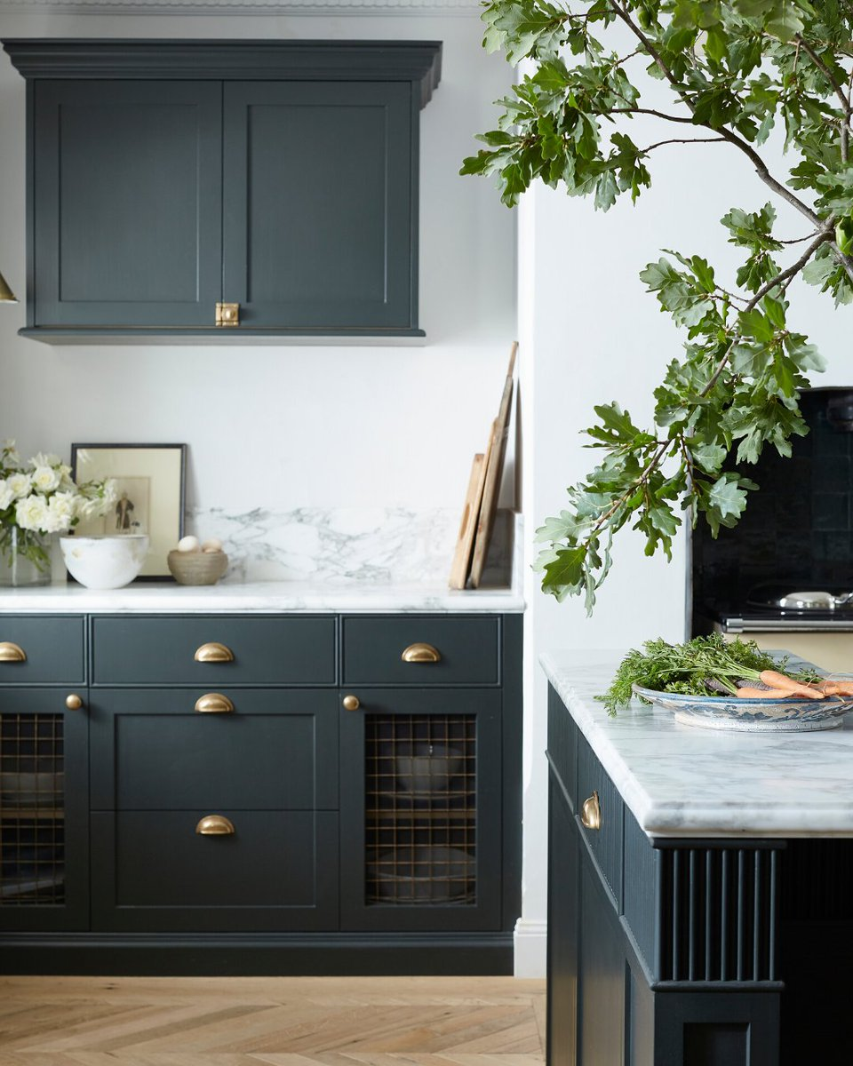 Armac Martin On Twitter The Deep Khaki Cabinetry In Stevecordony S Rosedale Farm Kitchen Creates A Bold Impact Adorned Beautifully With Contrasting Burnished Brass Hardware Accents From Our Cotswold And Kingsheath Collections