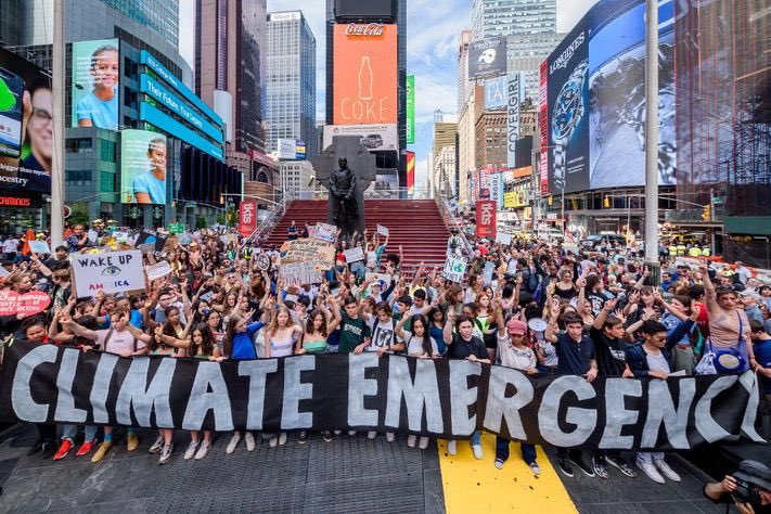 1 year ago today! On May 24th, 2019 was the 3rd mass mobilization of New York City youth for the climate. We struck ahead of the European Parliament elections so that voters would vote for the climate. This year it's our turn. On November 3rd, 2020, vote for the climate. 1/2
