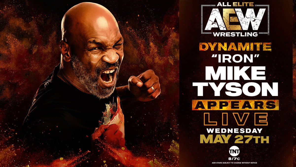 Mike Tyson To Appear On This Wednesday's AEW Dynamite