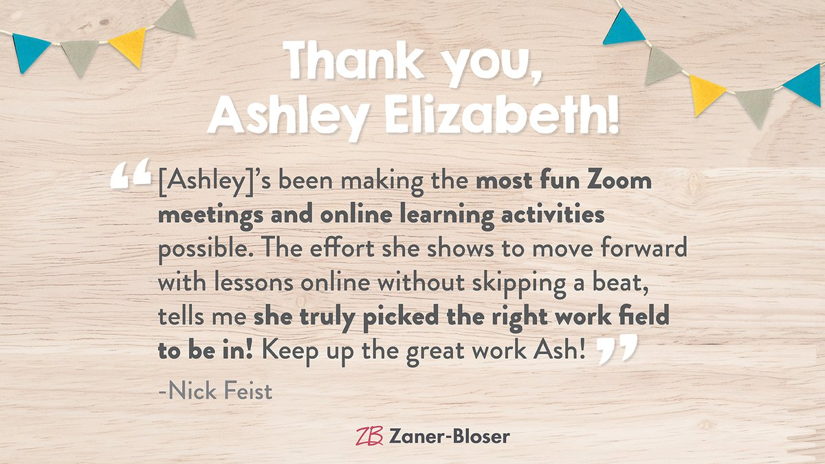 Creating fun, online classroom activities is no easy feat! Fantastic job, Ashley, and thank you for sharing, Nick! #ThankATeacher https://t.co/JDeHtFzN9K