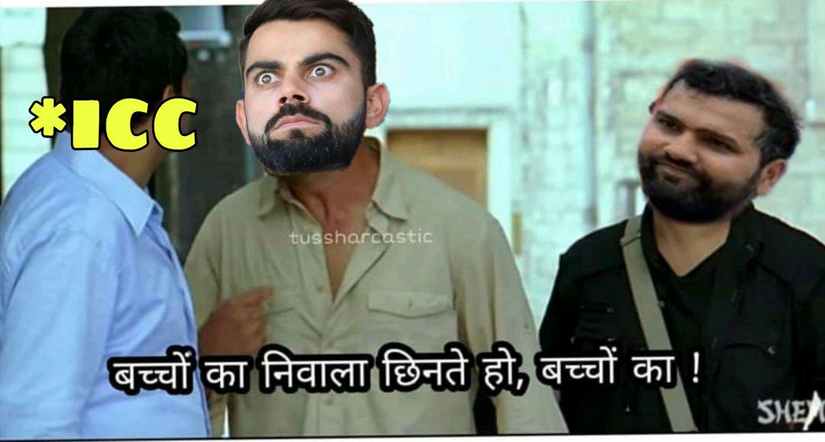 ICC : No celebration after fall of wicket due to corona   Virat Kohli : <br>http://pic.twitter.com/2fIKL084PB