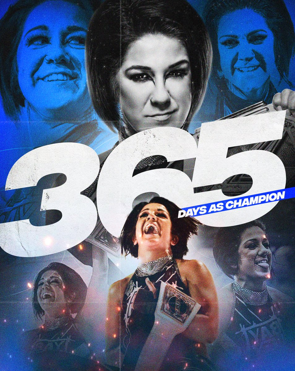 The Champ has now reached 365 Days Combined as Smackdown Women's Champion!   @itsBayleyWWE<br>http://pic.twitter.com/Kj0UDOF7Go